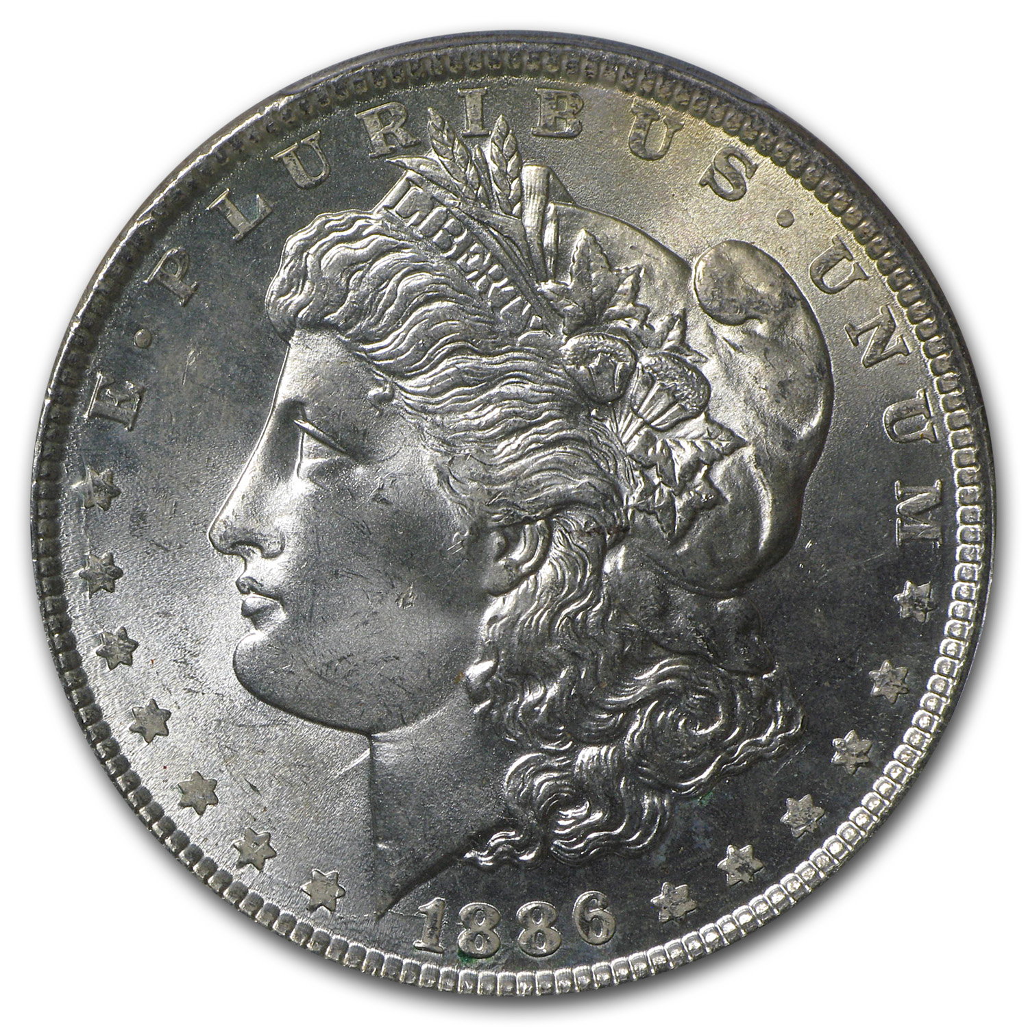 1886 Morgan Dollar - MS-65 PCGS